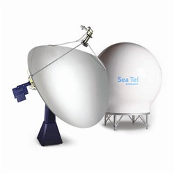 Sea Tel 9707D VSAT circular C-band